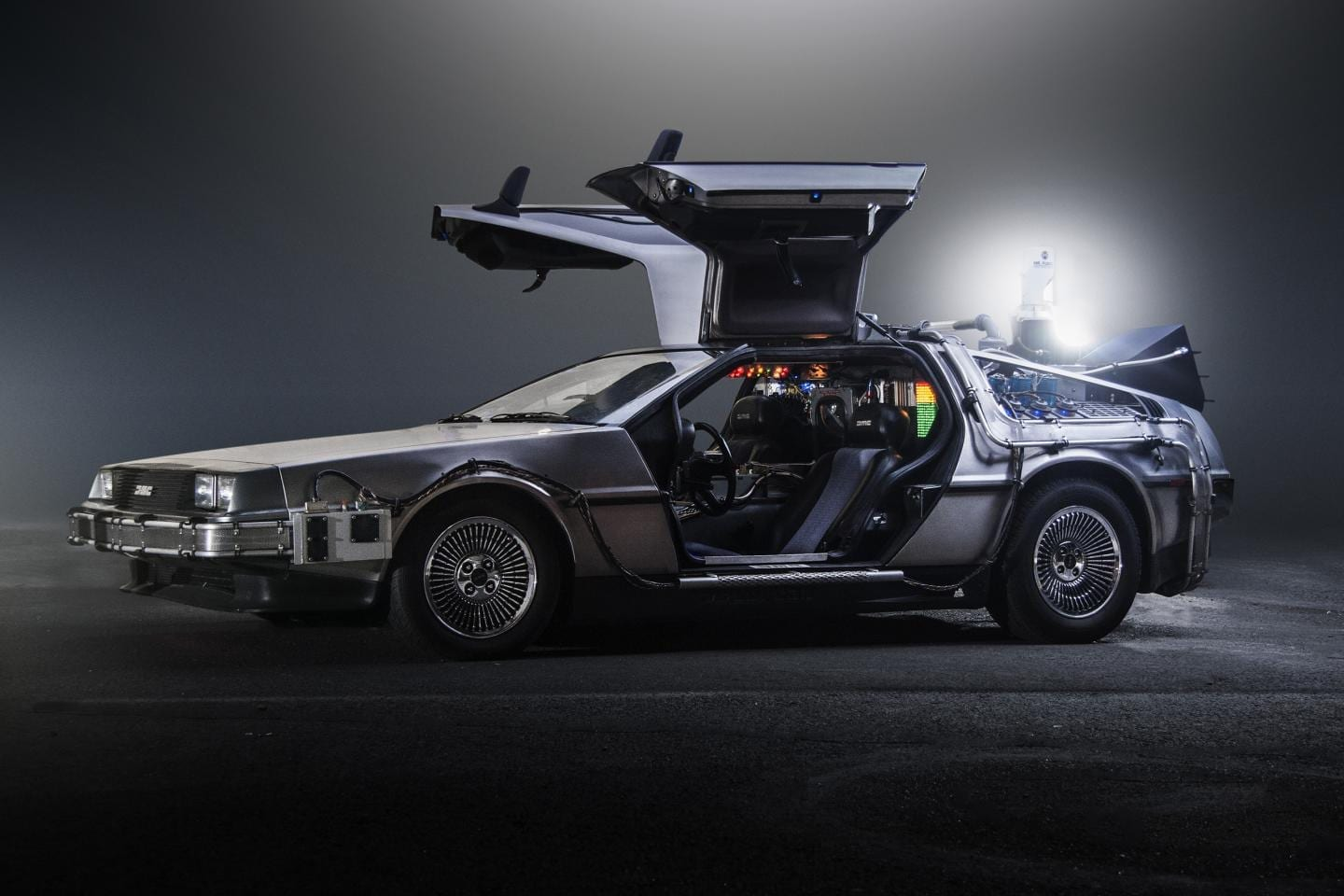 A futuristic car from the 1980s ... physicists seek to understand the Universe's underlying laws via University of Queensland