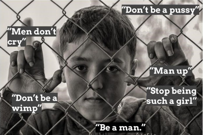 Be a man' - toxic masculinity, social media and violence   Innovation Unit    New solutions for thriving societies