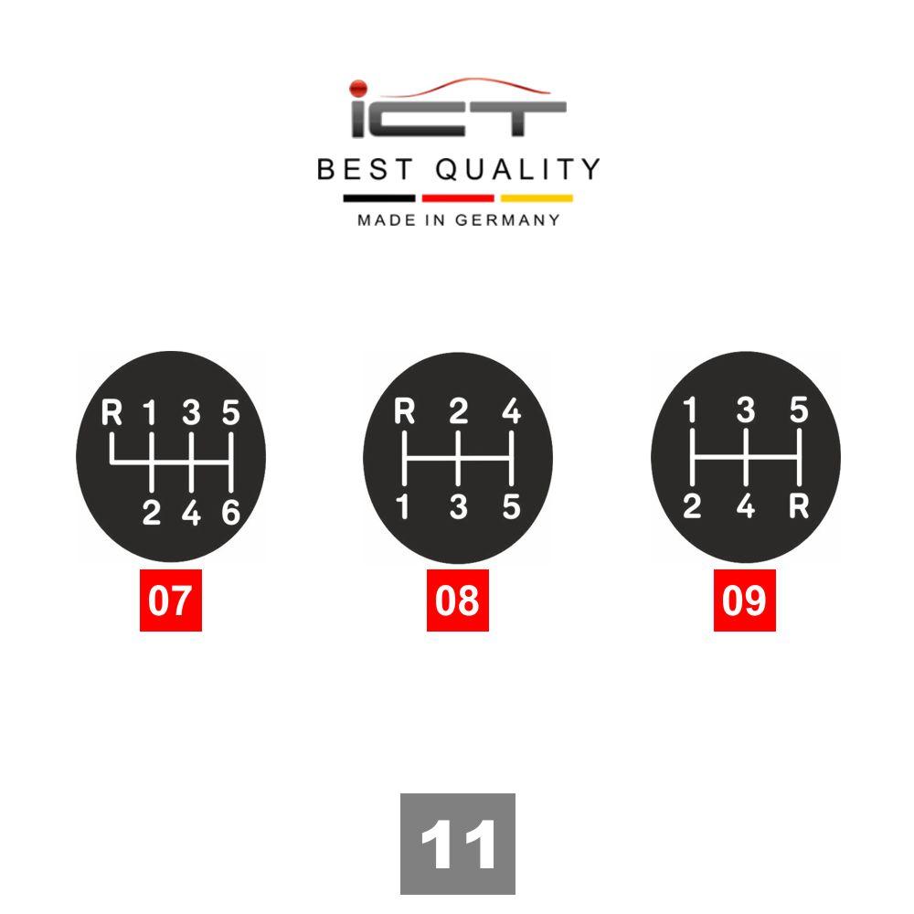 ICT shift gear knob gaiter LED Porsche 944 968 924S