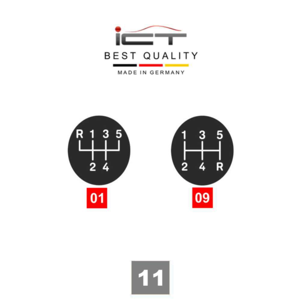 ICT gear shift knob gaiter leather Vauxhall Opel Astra H