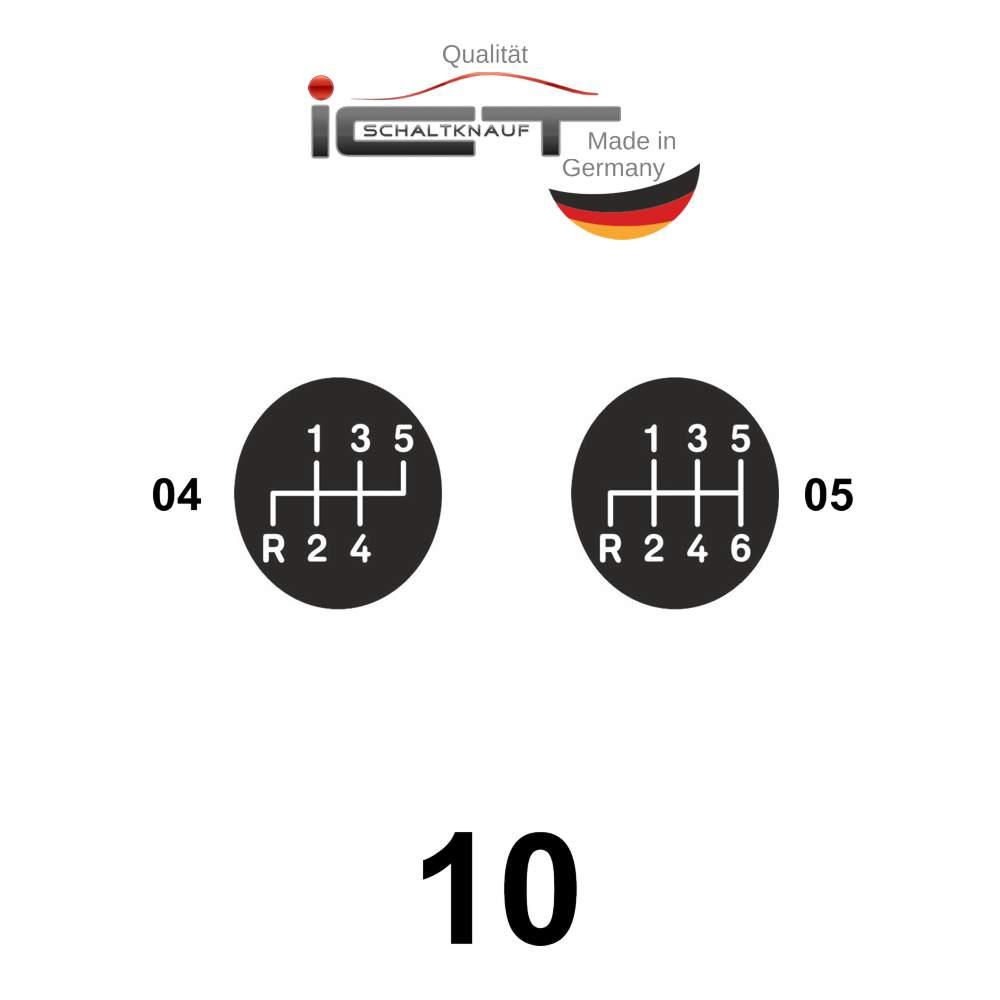 ICT shift gear knob gaiter leather Mercedes E Klasse W210
