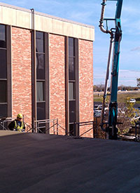 Concrete Roofing Project