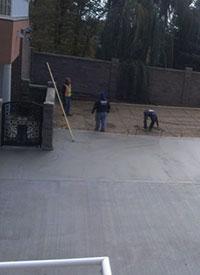 Large Concrete Layout
