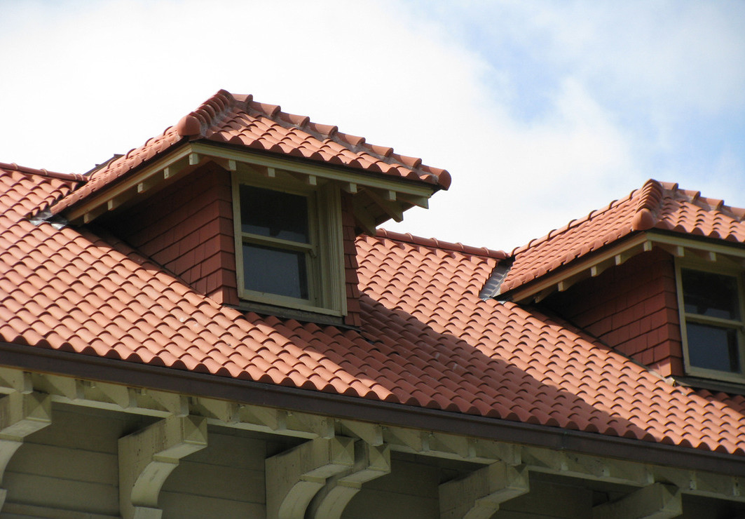traditional clay tile roofing