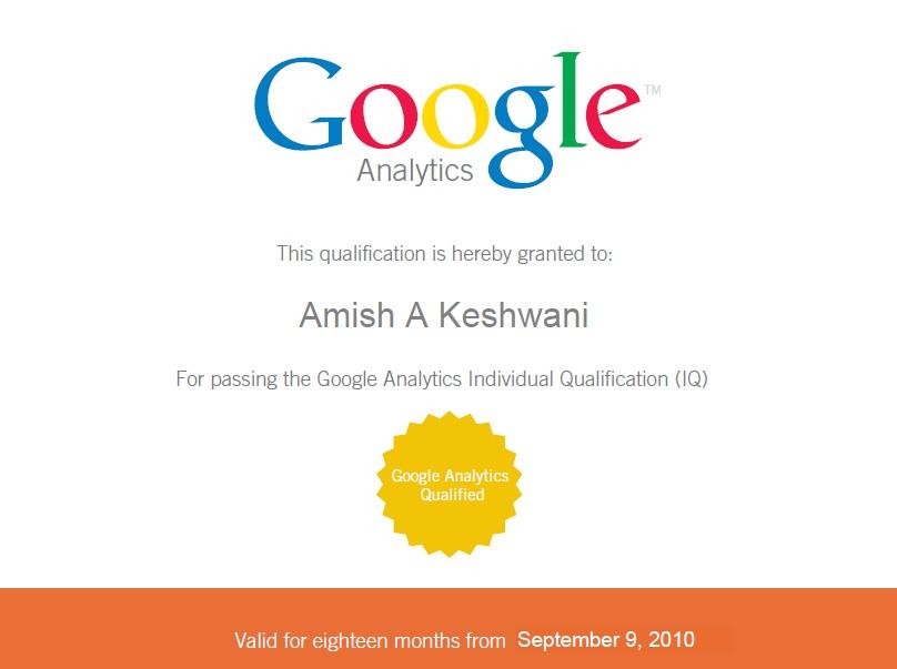 Google Analytics Professional