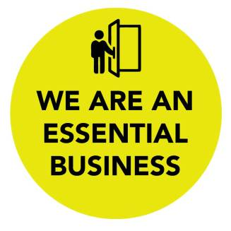 "12""x12"" ESSENTIAL BUSINESS -YELLOW (Wall, Floor, Window) 014"