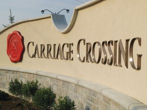 Carriage Crossing - Installed