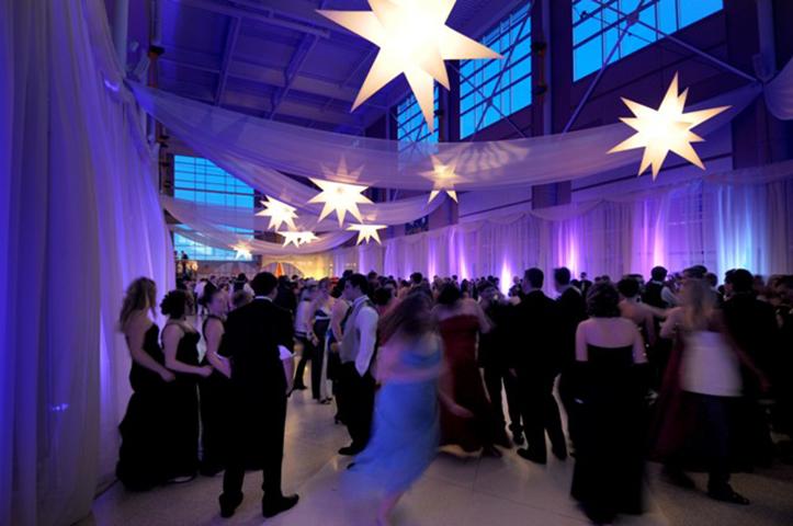 starry night prom theme