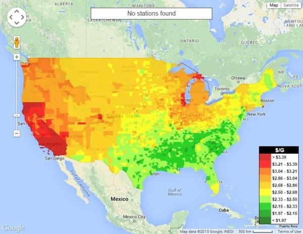 US Gas Price