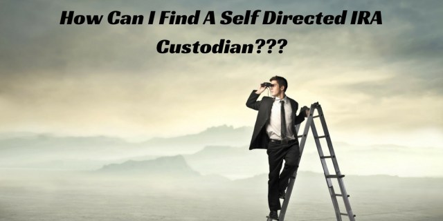 self directed IRA custodian