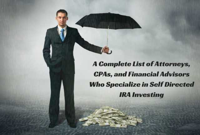 self directed ira advisors