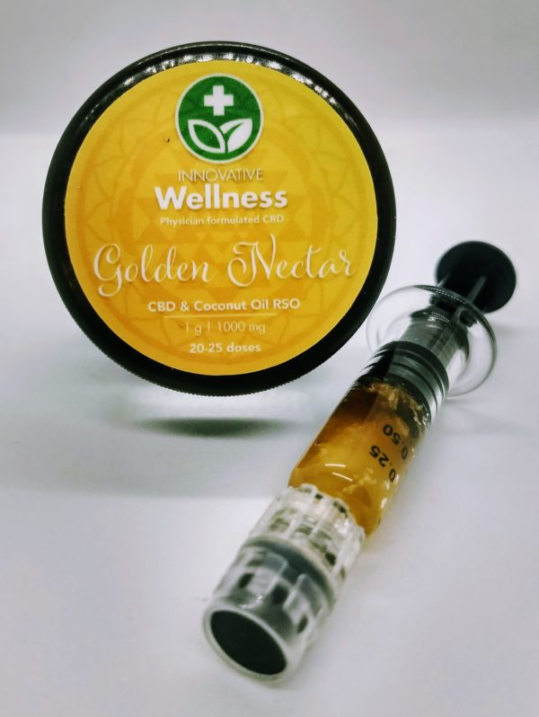 Golden Nectar CBD & Coconut Oil | 1 Gr