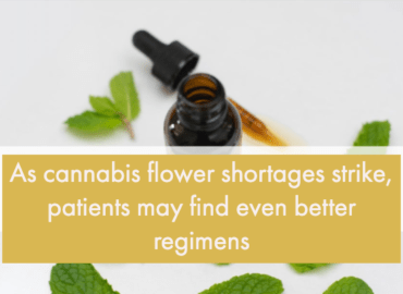 cannabis flower shortages