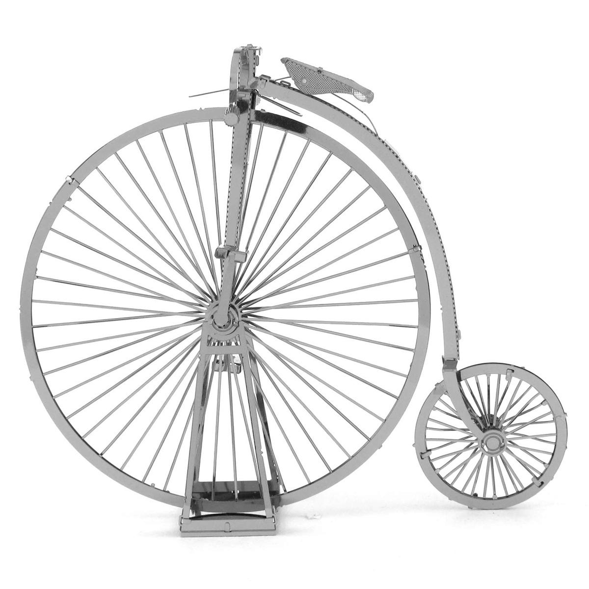 Metal Earth High Wheel Bicycle 3d Metal Model Kits Office