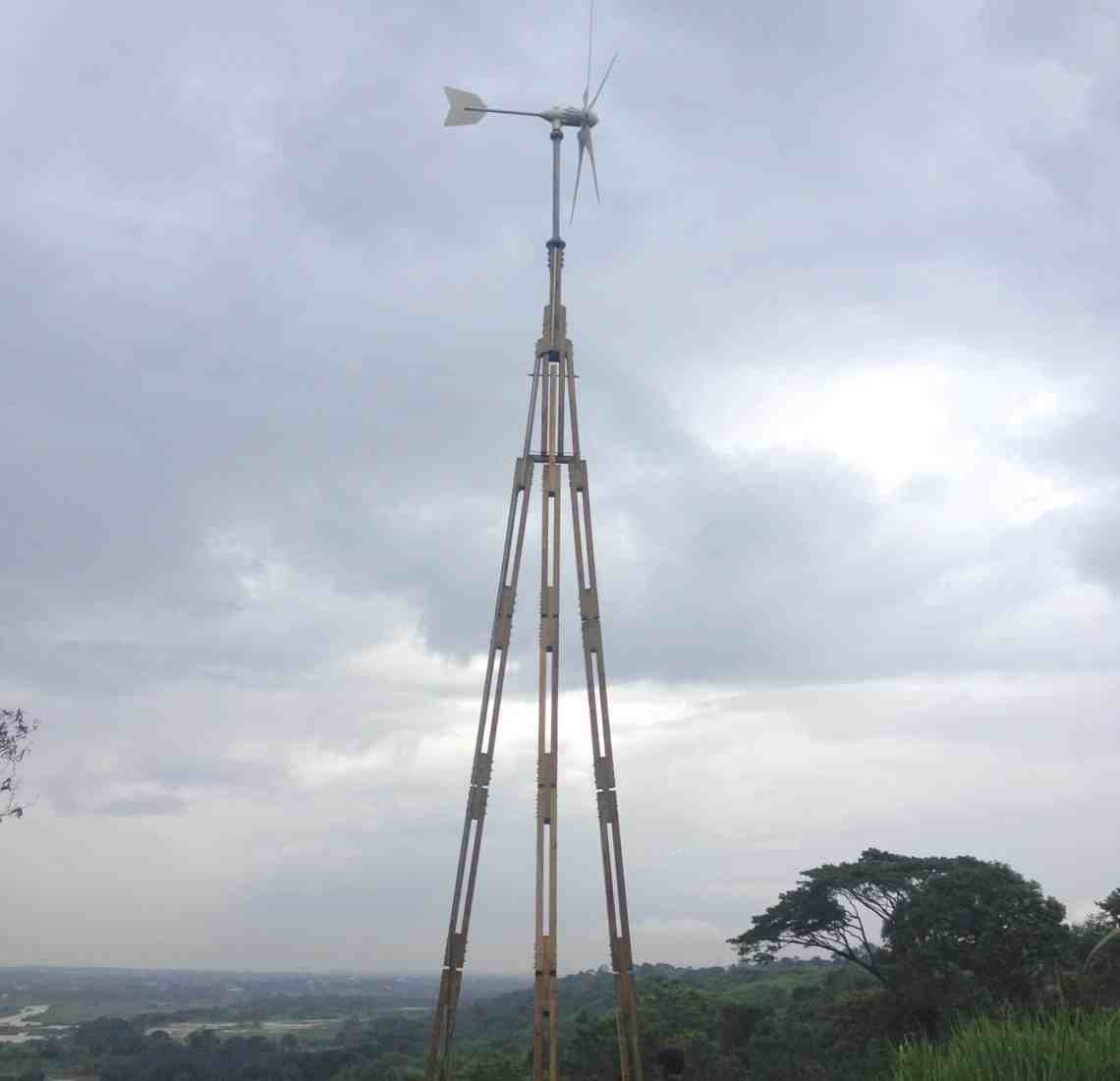 Philippines 2014: Dali PowerTower Lite installation
