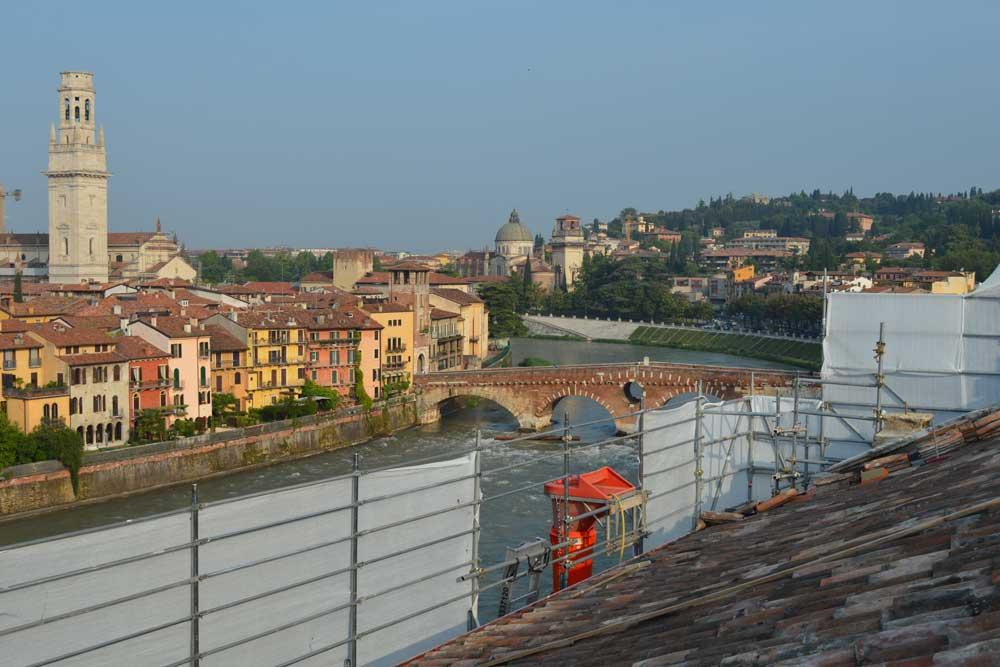 Verona  Ristrutturazione Chiesa S Maria Rocca Maggiore