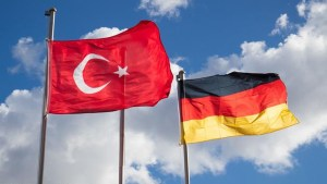 Flags of Turkey and Germany