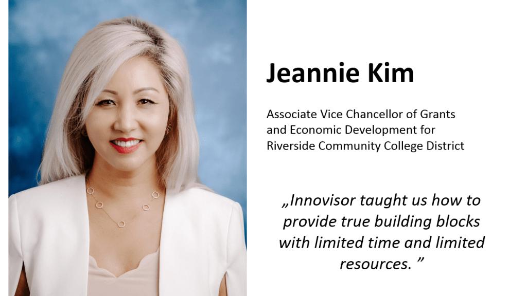 Jeannie Kim, Riverside Community District College