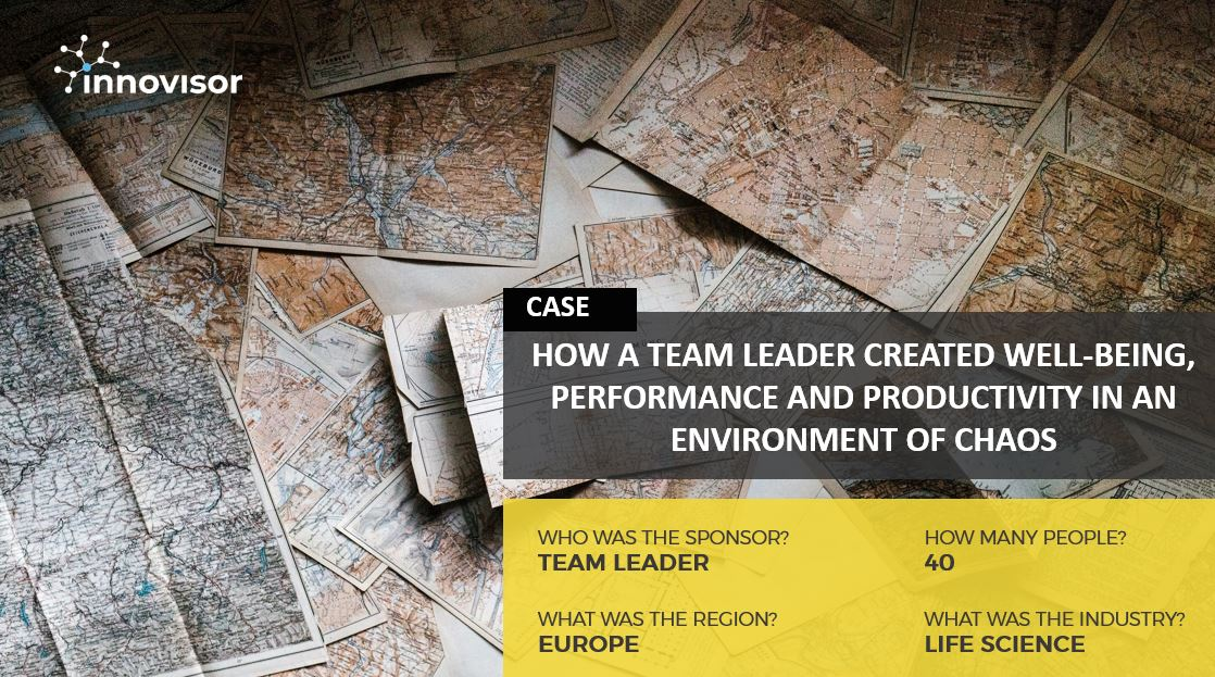 Featured image - How a Team Leader Created Wellbeing Performance and Productivity In Times of Chaos