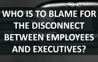 Who is to blame for the disconnect