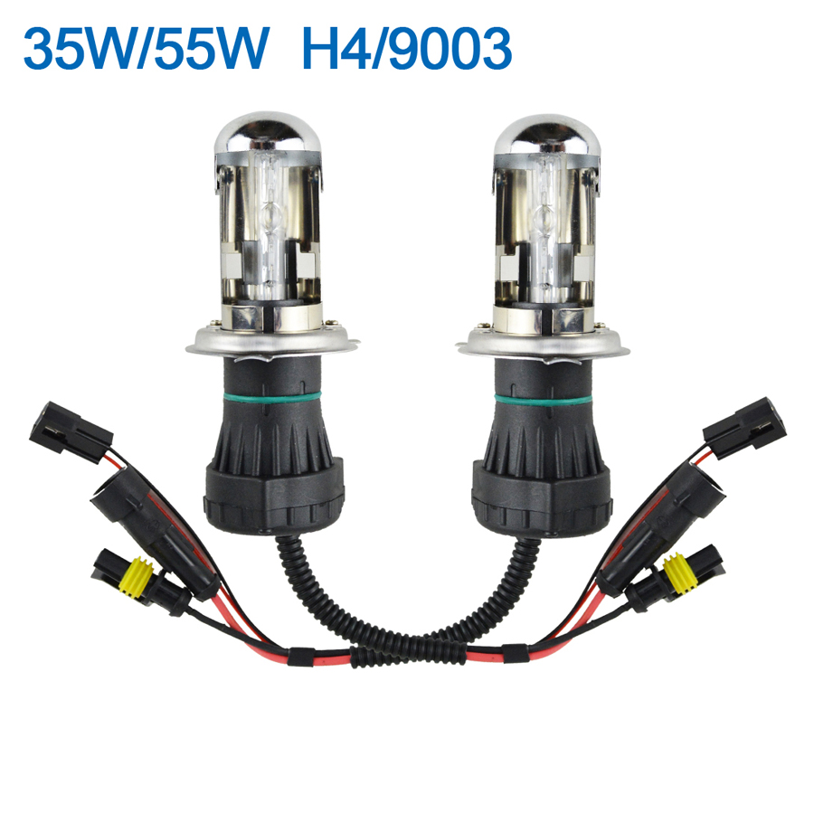 medium resolution of 35w 55w hid xenon bi xenon hi low dual beam bulbs h4 h13 9003 9004 rh