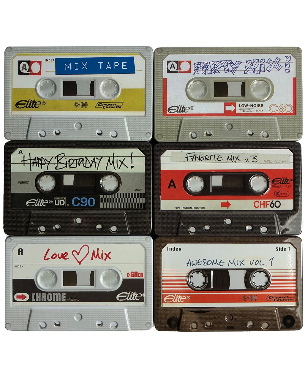 Compact Audiotape Cassette