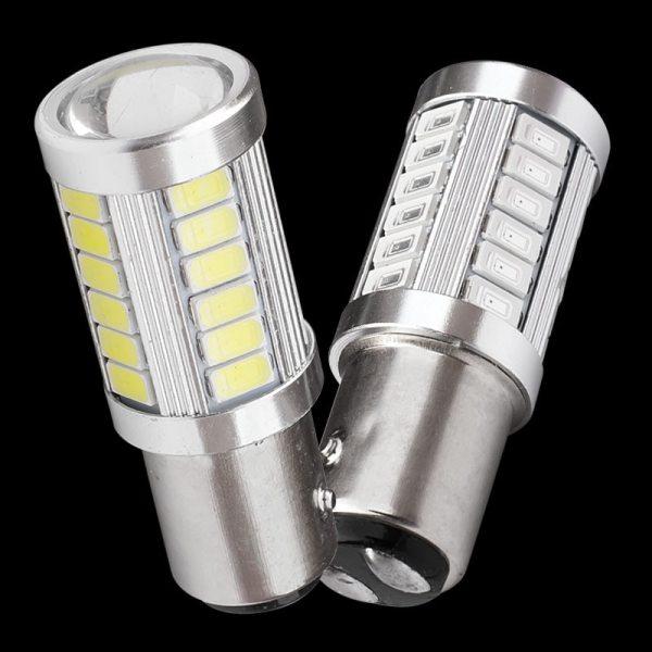 1157 P21 5W BAY15D Super Bright 33 SMD 5630 5730 LED auto brake lights fog lamp 1157 P21/5W BAY15D Super Bright 33 SMD 5630 5730 LED auto brake lights fog lamp 21/5w car daytime running light stop bulbs 12V