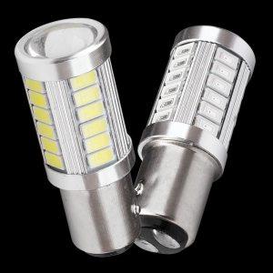 1157 P21 5W BAY15D Super Bright 33 SMD 5630 5730 LED auto brake lights fog lamp Innrech Market.com