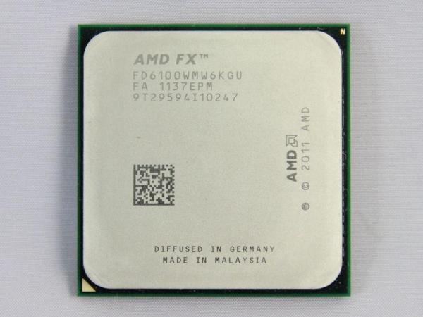 AMD FX 6100 3 3GHz Six Core FX Series Socket AM3 CPU Processor 1 AMD FX 6100 3.3GHz Six Core FX-Series Socket AM3+ CPU Processor