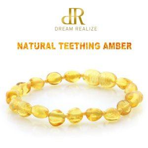 DR Polished Lemon Amber Teething Bracelets Anklets 4 7 8 7 Handmade Original Jewelry Baltic Amber Innrech Market.com