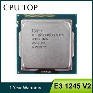 Intel Xeon E3 1245 V2 Quad Core CPU Processor 3 4GHz LGA 1155 8MB E3 1245 Innrech Market.com