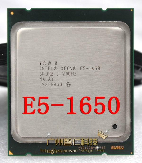 Intel Xeon E5 1650 3 2GHz 6 Core 12Mb Cache Socket 2011 CPU Processor SR0KZ Intel Xeon E5 1650 3.2GHz 6 Core 12Mb Cache Socket 2011 CPU Processor SR0KZ