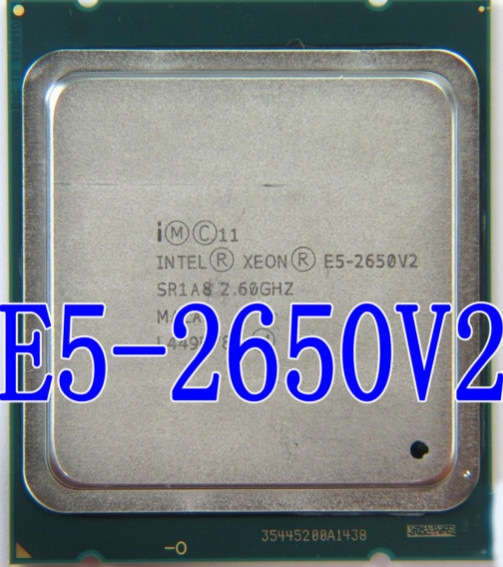 Intel Xeon Processor E5 2650 V2 E5 2650 V2 CPU 2 6GHZ LGA 2011 SR1A8 Octa Intel Xeon Processor E5-2650 V2 E5 2650 V2 CPU 2.6GHZ LGA 2011 SR1A8 Octa Core Desktop processor e5 2650V2 can work