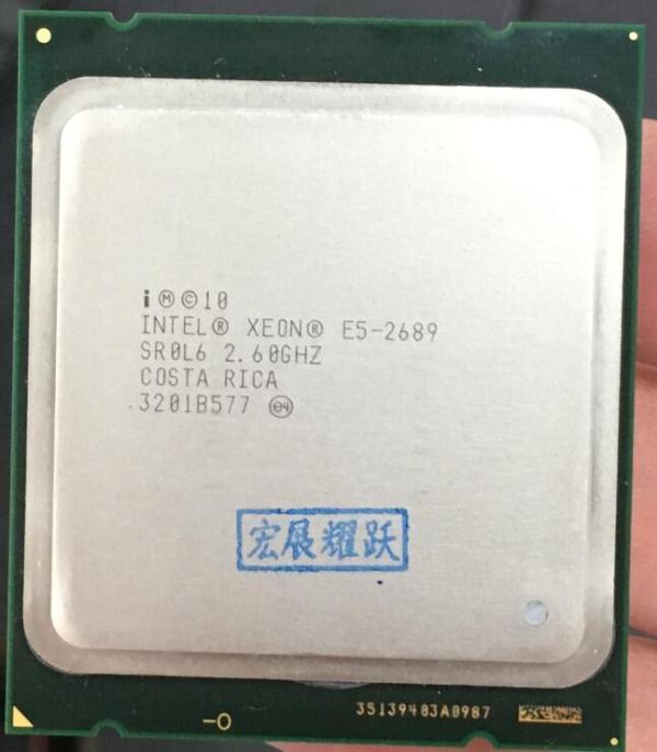 Intel Xeon Processor E5 2689 E5 2689 CPU 2 6 LGA 2011 SROL6 Desktop processor Eight Intel Xeon Processor E5-2689  E5 2689  CPU 2.6 LGA 2011 SROL6  Desktop processor Eight Core CPU 100% normal work