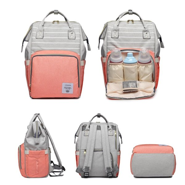 Lequeen Mommy Diaper Bag Baby Mummy Carriage Backpack Mother Changing Bag Maternity Bag Care Stroller Large 1 Lequeen Mommy Diaper Bag Baby Mummy Carriage Backpack Mother Changing Bag Maternity Bag Care Stroller Large Capacity Nappy Bag