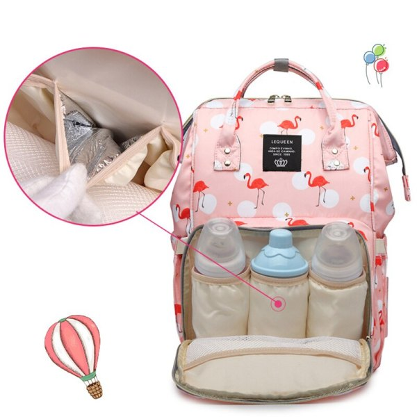 Lequeen Mommy Diaper Bag Baby Mummy Carriage Backpack Mother Changing Bag Maternity Bag Care Stroller Large 4 Lequeen Mommy Diaper Bag Baby Mummy Carriage Backpack Mother Changing Bag Maternity Bag Care Stroller Large Capacity Nappy Bag