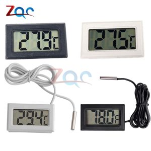 Mini LCD Digital Thermometer for Freezer Temperature 50 110 degree Refrigerator Fridge Thermometer indoor outdoor Probe Innrech Market.com