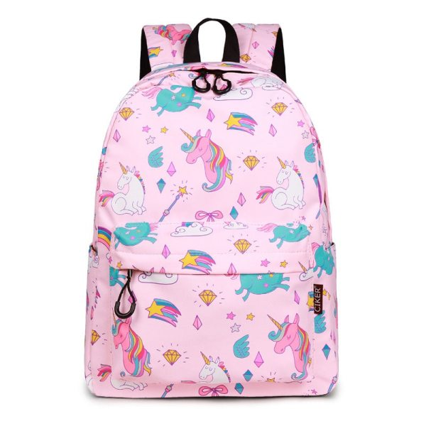 WINNER School Backpack Cartoon Rainbow Unicorn Design Water Repellent Backpack For Teenager Girls School Bags Mochila 2 WINNER School Backpack Cartoon Rainbow Unicorn Design Water Repellent Backpack For Teenager Girls School Bags Mochila 2019