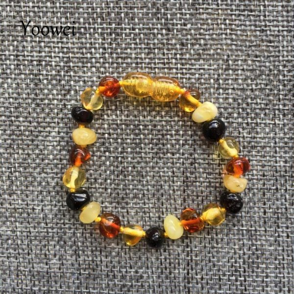 Yoowei Baby Teething Amber Bracelet for Boys Girl Best Women Ladies Gift Natural Baltic Amber Jewelry 4 Yoowei Baby Teething Amber Bracelet for Boys Girl Best Women Ladies Gift Natural Baltic Amber Jewelry Adult Anklet Sizes 13-23cm