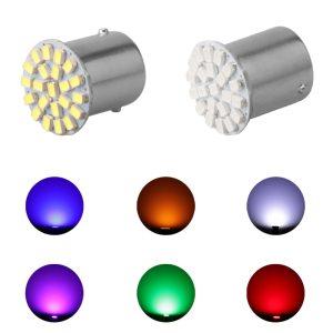 1 Pcs Hot Sale 12V 1156 1157 22SMD P21W BA15S BA15D LED Bulb Car Auto Front Innrech Market.com