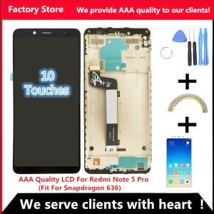10 Touch AAA Quality LCD Frame For Xiaomi Redmi Note 5 Pro LCD Display Screen Replacement Innrech Market.com