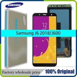 100 Original 5 6 Super AMOLED LCD For Samsung Galaxy J6 2018 J600F J600 Display With 1 Innrech Market.com