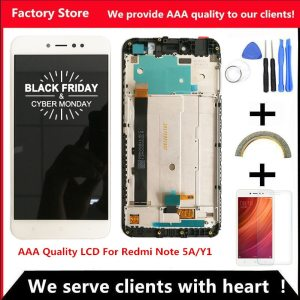 1920 1080 5 5 Inch AAA Quality LCD Frame For Xiaomi Redmi Note 5A LCD Display Innrech Market.com