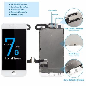 1Pcs OEM LCD For iPhone 7 7 Plus Display Full Set Digitizer Assembly 3D Touch Screen Innrech Market.com
