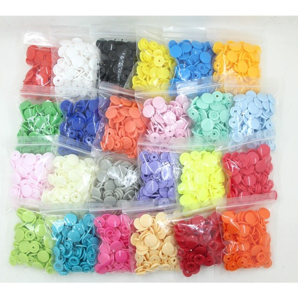 20 Sets KAM T5 12MM Round Plastic Snaps Button Fasteners Quilt Cover Sheet Button Garment Accessories 20 Sets KAM T5 12MM Round Plastic Snaps Button Fasteners Quilt Cover Sheet Button Garment Accessories For Baby Clothes Clips