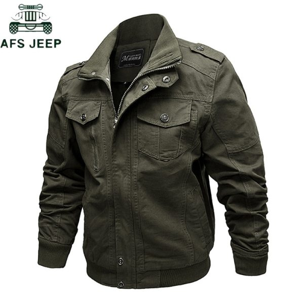2019 Military Jacket Men Cargo Tactical Bomber Jacket Male Plus Size 6XL Casual Zipper Air Force 2019 Military Jacket Men Cargo Tactical Bomber Jacket Male Plus Size 6XL Casual Zipper Air Force Pilot Flight Cotton Coat Jacket