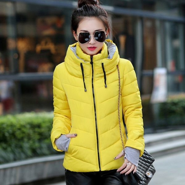 2019 Winter Jacket women Plus Size Womens Parkas Thicken Outerwear solid hooded Coats Short Female Slim 3 2019 Winter Jacket women Plus Size Womens Parkas Thicken Outerwear solid hooded Coats Short Female Slim Cotton padded basic tops