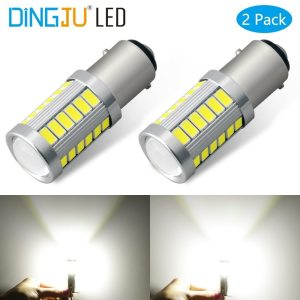 2PCS Universal 1157 BAY15D 1156 Ba15s 33SMD P21W 900 Lumens Super Bright LED Turn Tail Brake Innrech Market.com