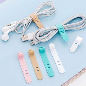 4 Pcs lot Multipurpose Desktop phone Cable Winder Earphone clip Charger Organizer Management Wire Cord Innrech Market.com