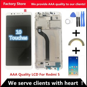 5 7 AAA Quality IPS LCD Frame For Xiaomi Redmi 5 LCD Display Screen Replacement For Innrech Market.com